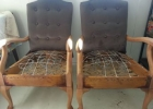 Pewter Chairs