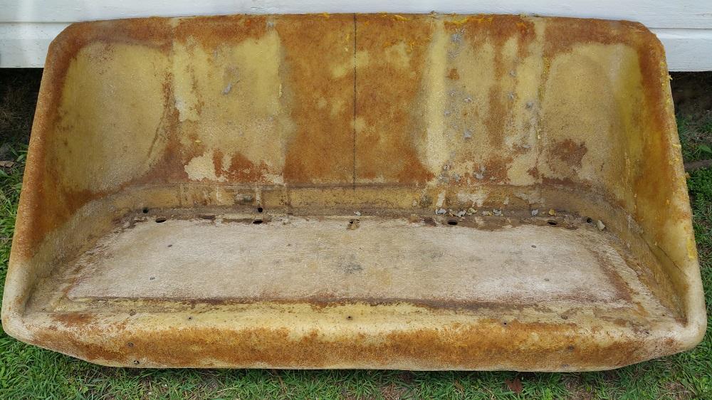 Web blog boat seat stripped